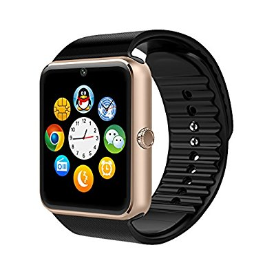 4. Willful SW016 Bluetooth Smart Watch with Camera