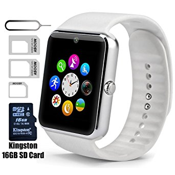 5. Smart Watch GT08 Bluetooth with 16GB SD Card