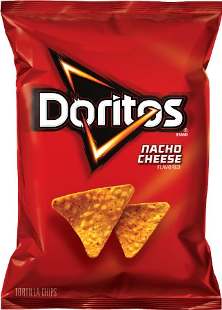 10. Doritos Tortilla Chips, Nacho Cheese