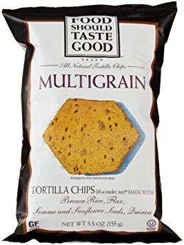 8.Food Should Taste Good Multigrain Tortilla Chips.