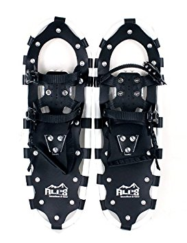 7. The Alps all terrain snowshoes for men women youth with free carrying tote bag
