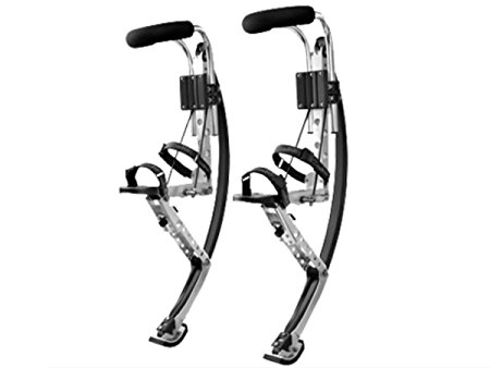 5. Adult kangaroo shoes jumping stilts fitness exercise bouncing shoes
