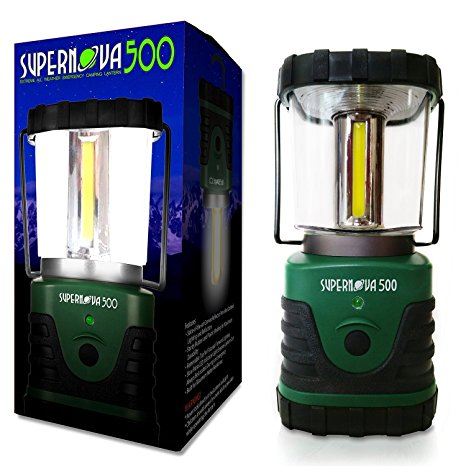 10. Supernova 500 Ultra Bright Camping & Emergency LED Lantern