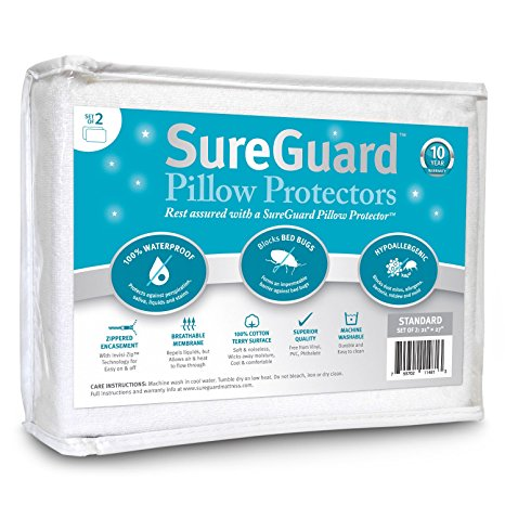 4. Sure Guard Pillow Protectors