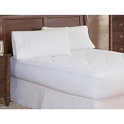 9. Serta Sherpa Plush Heated Mattress Pad