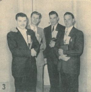 Gillis Killam, Ralph Lemke, Ian Locke, Daniel Straza on their Ordination