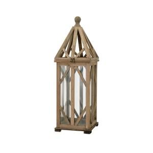 Wooden Cage Lantern