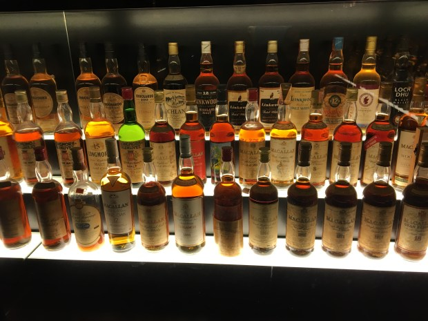 Largest Collection of Scotch Whisky- Edinburgh