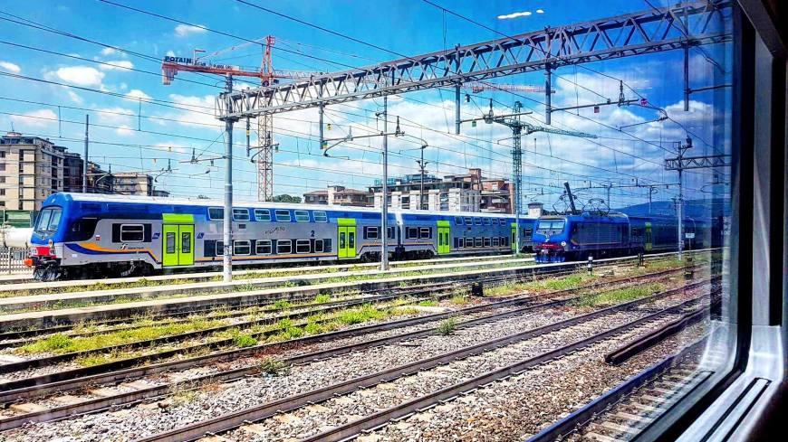 Viagens de Trem pela Europa - Estação de Florença