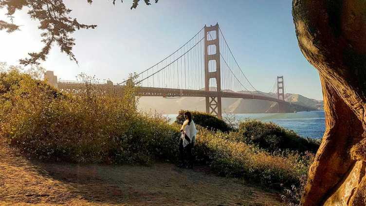 O que fazer em San Francisco - Vista lateral da Golden Gate