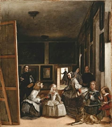 As Meninas por Velázquez, 1656