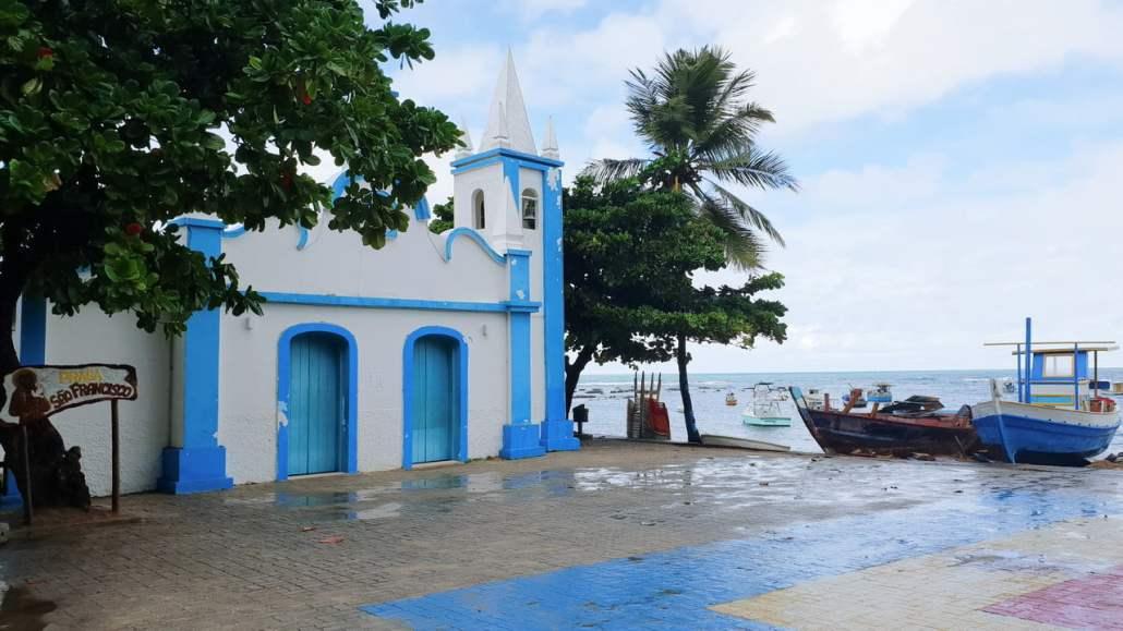 O que fazer em Salvador - Centrinho na Praia do Forte