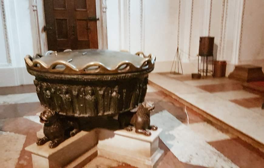 Mozart foi batizado - Catedral de Salzburg