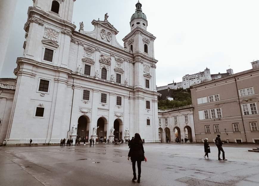 Grandiosidade - Catedral de Salzburg