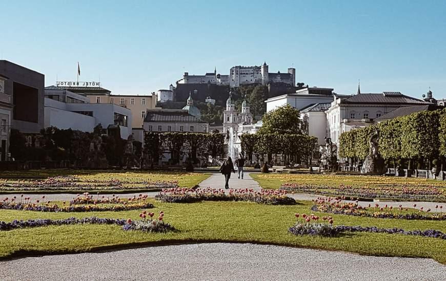 palácio Mirabel - Catedral de Salzburg