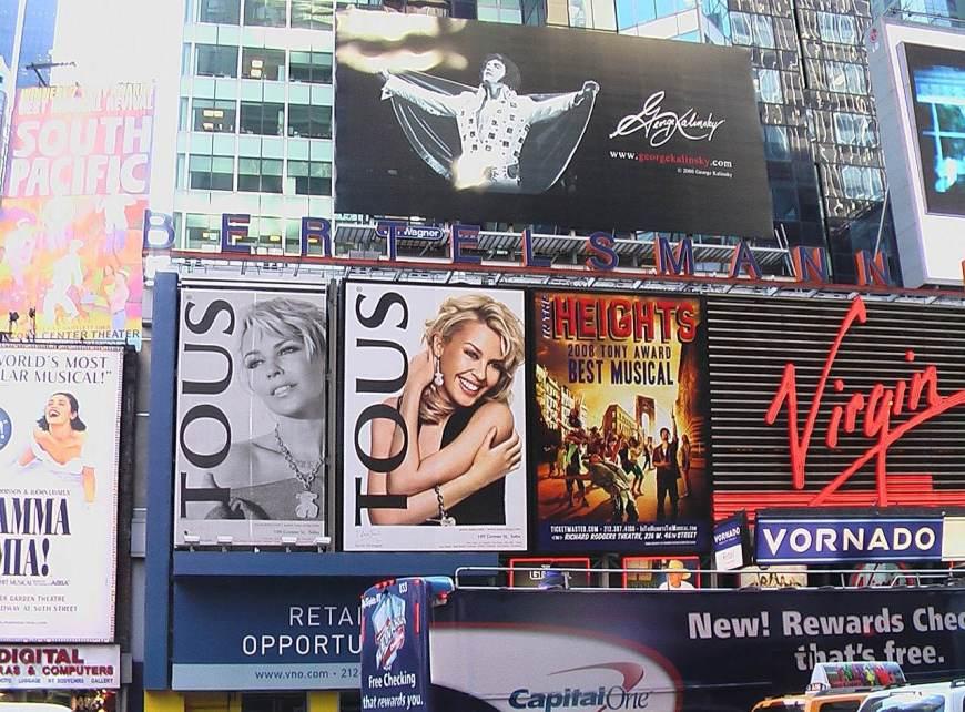 Lugares para visitar em Nova York - Espetáculos