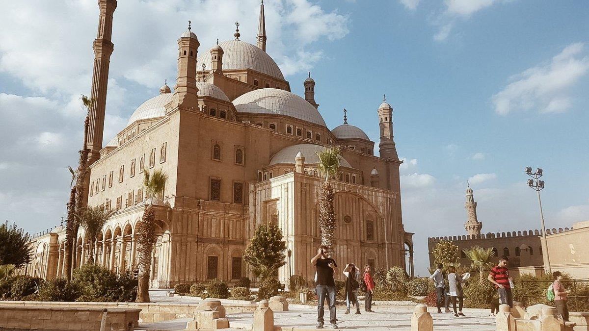 Pontos turísticos do Egito - A magestosa mesquita de Mohamed Ali