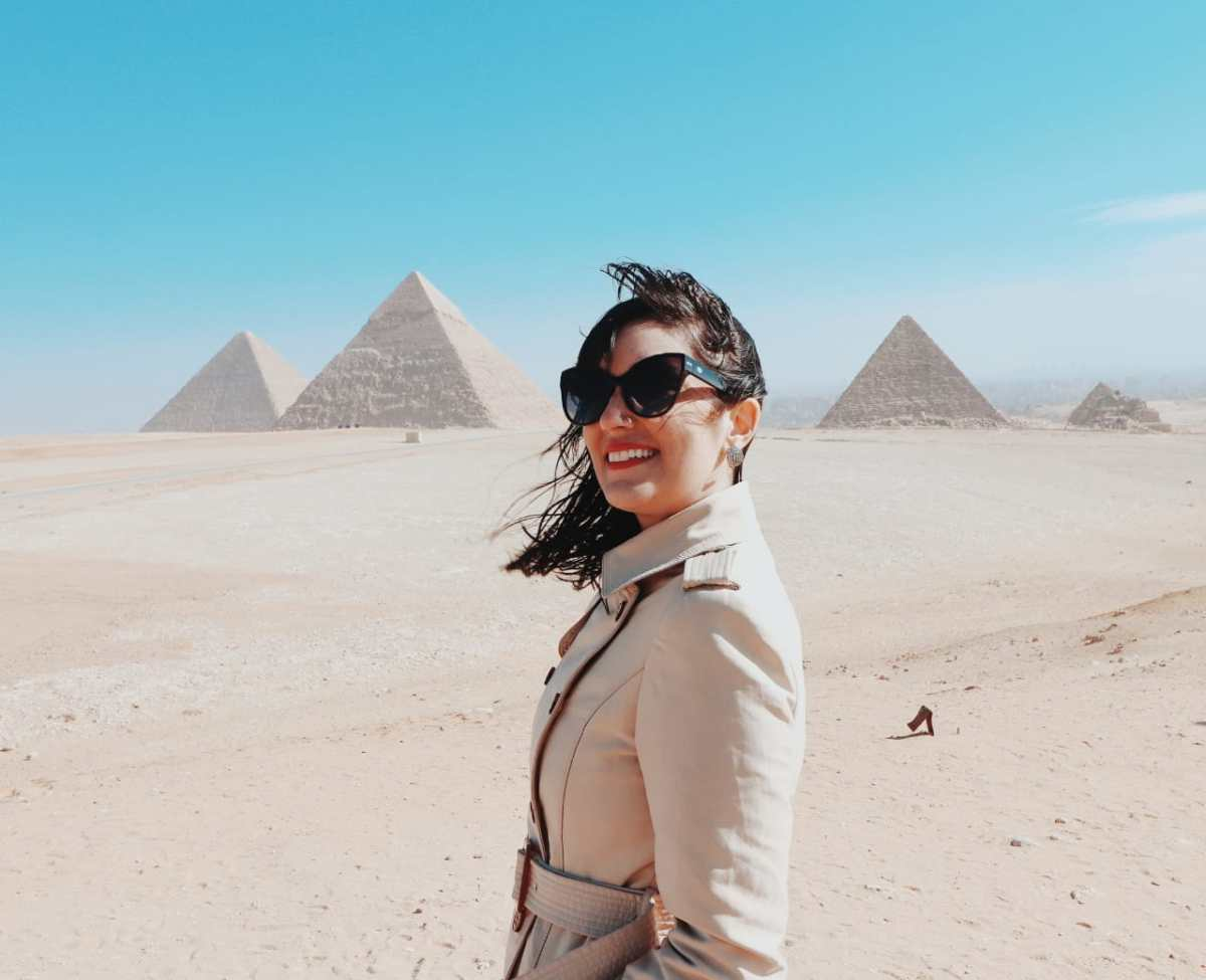 Pontos turísticos do Egito - As famosas pirâmides do sítio arqueológico de Gizé