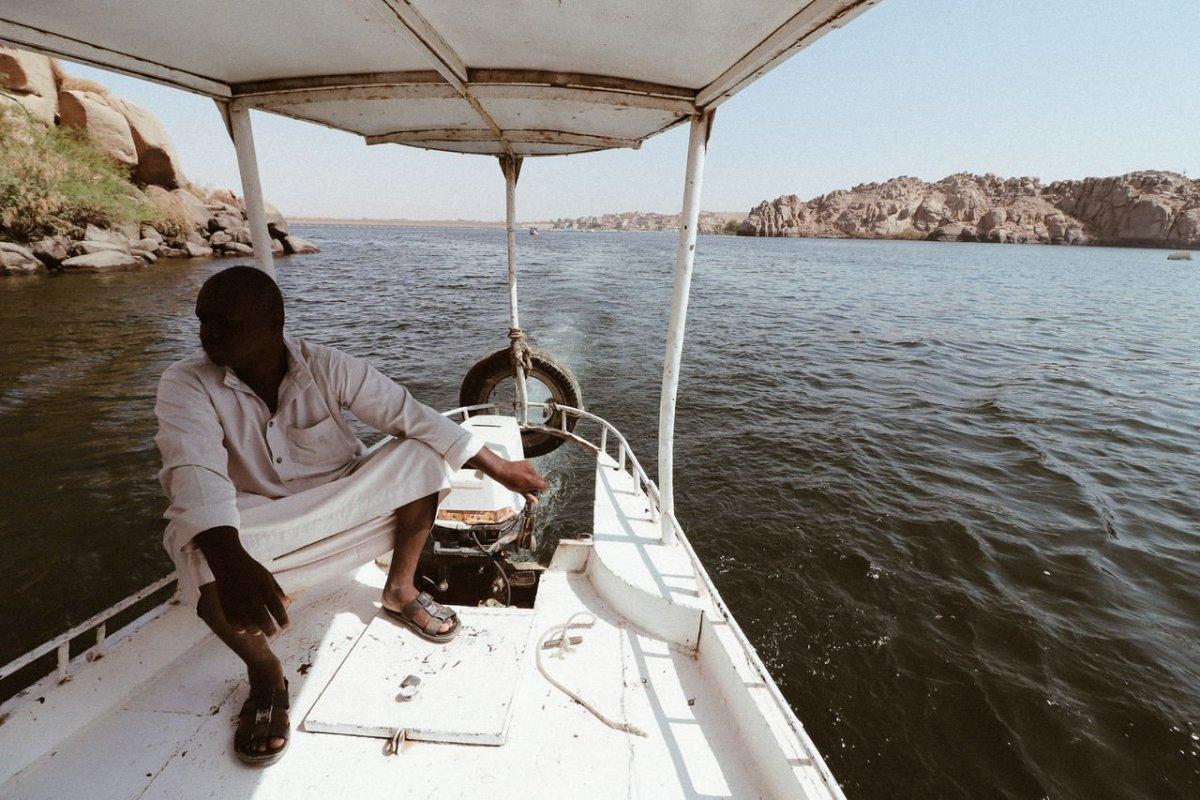 Pontos turísticos do Egito - Passeio de barco no Rio Nilo