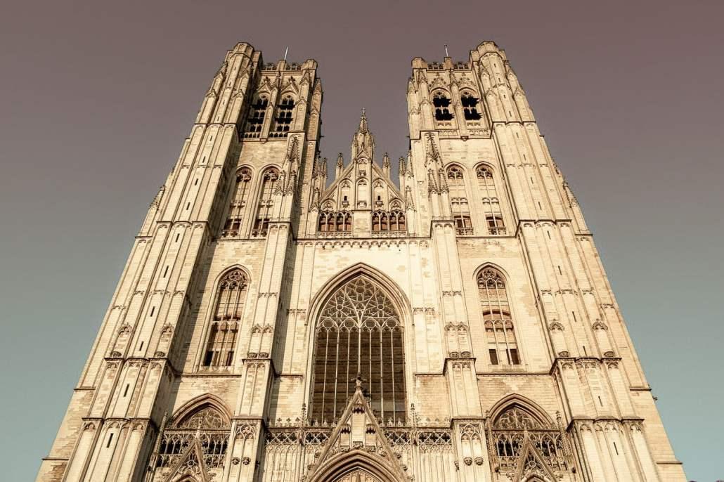 catedral em bruxelas