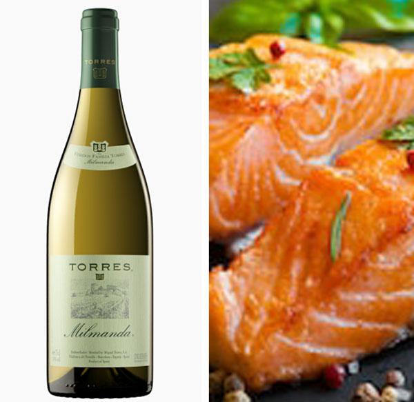 5 Platos que maridan perfecto con el vino blanco Torres Milmanda
