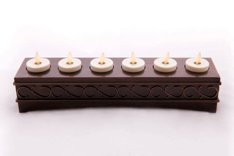 【Luminara 盧米娜拉 擬真火焰 蠟燭】六入式 象牙白 小茶杯款
