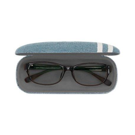 日本SHF生活小品│學院風數字眼鏡盒│藍