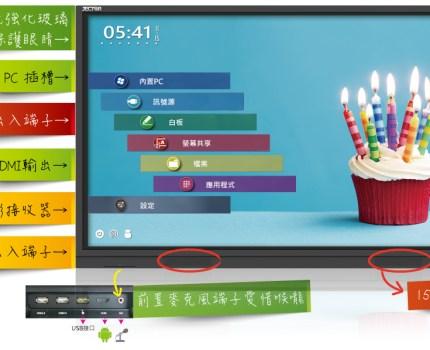 FM-S系列 4K智慧觸控顯示器