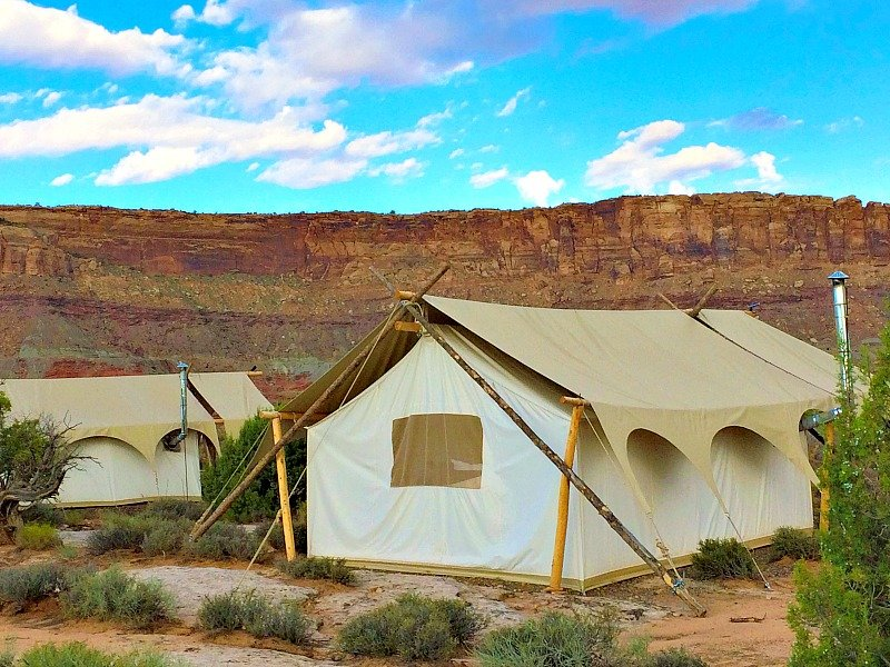 Glamping Under Canvas Moab6