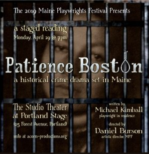 Graphic for Patience Boston play