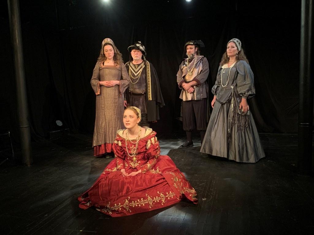 image of actors in period costume