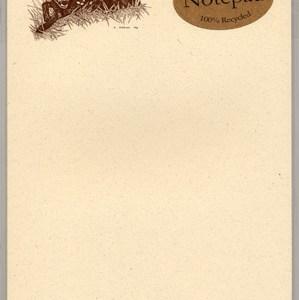 Deer Notepad