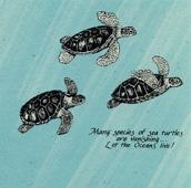 Sea Turtles Stationery