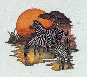 Zebra Stationery