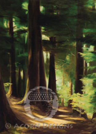Ancient Forest Notecard