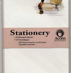 Mallard Ducks Stationery