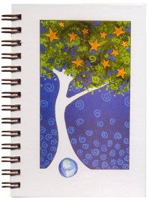 Cover image - Star Tree Mini Journal