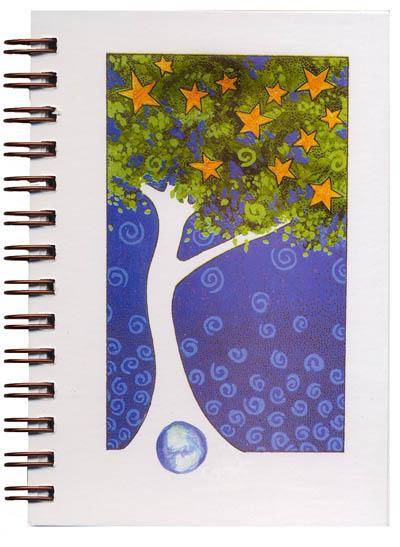 Cover image - Star Tree Mini Journal