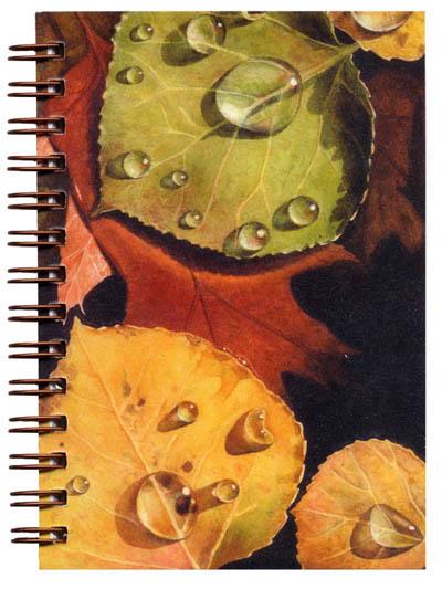 Cover image - Autumn Leaves Mini Journal