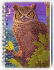 Cover image - Great Horned Owl Mini Journal