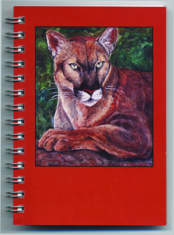 Cover image - Mountain Lion Mini Journal