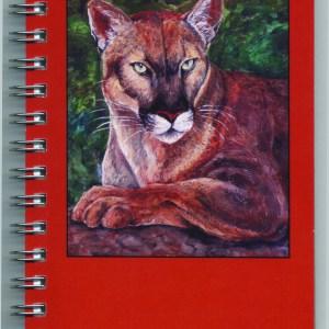 Cover image - Mountain Lion Mini Journal