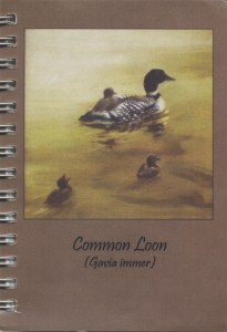Cover image - Loon Mini Journal