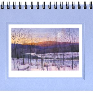 Winter Dawn Notecard
