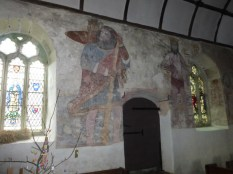 Breage: St Christopher and the warning to Sabbath-breakers