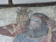 Breage: St Christopher (detail)