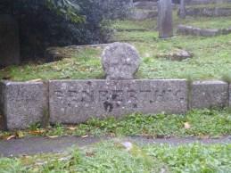 Helston: Penberthy tomb with crosshead