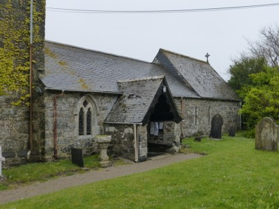 Note the unusual chancel which is higher than the nave