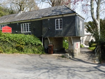 The lychgate from the outside