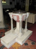 The much-restored C12 font
